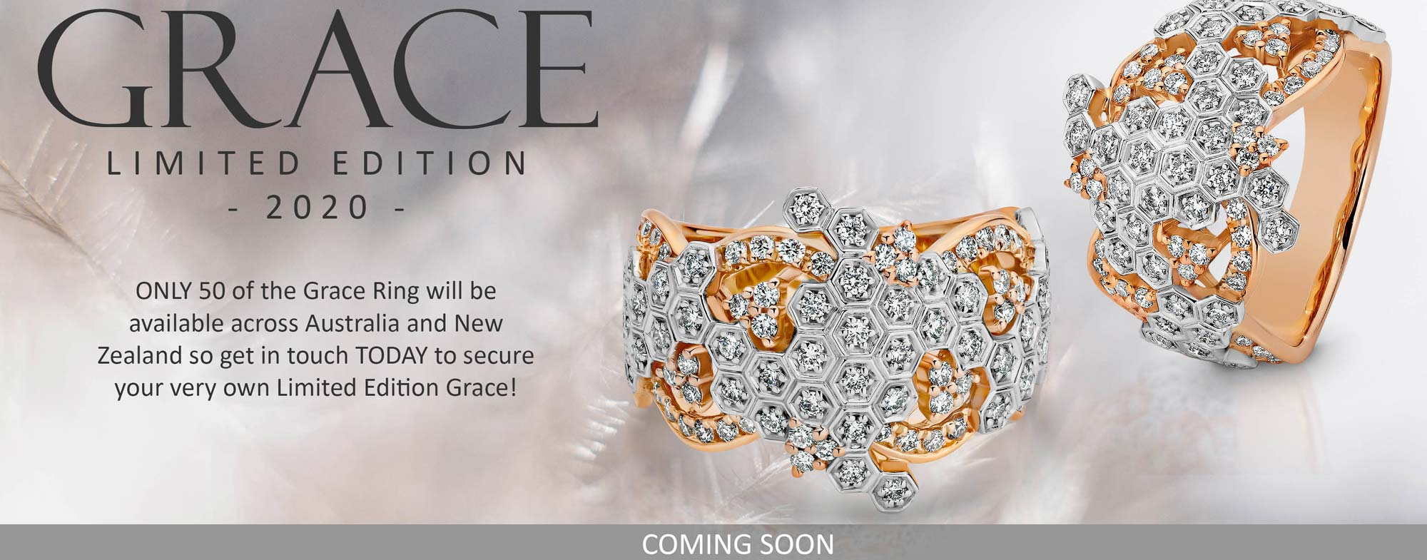 Shop Grace Diamond Rings At Facets Showcase Jewellers In Emerald, QLD